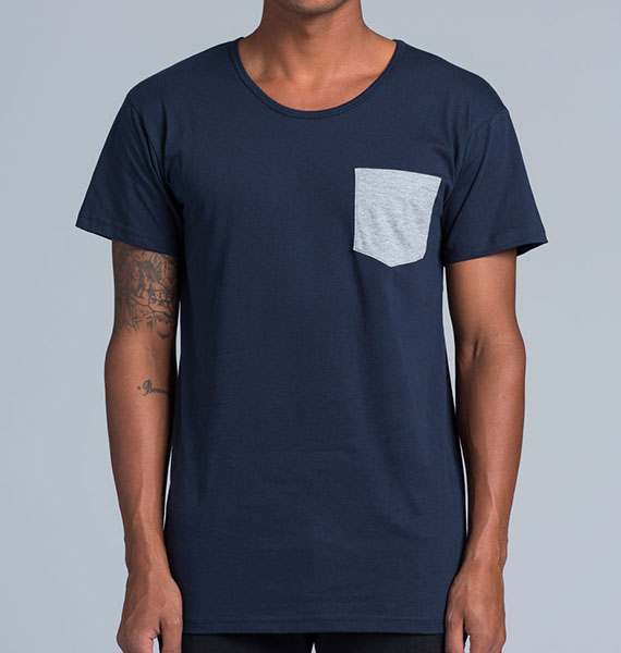 Mens Shadow Pocket Tee