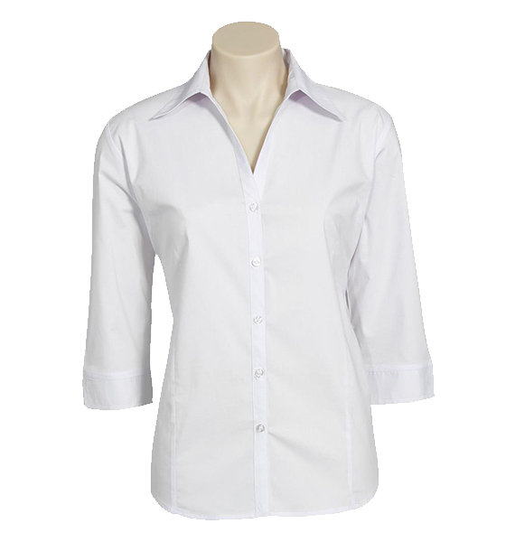 Ladies Metro 3/4 Sleeve Stretch Shirt