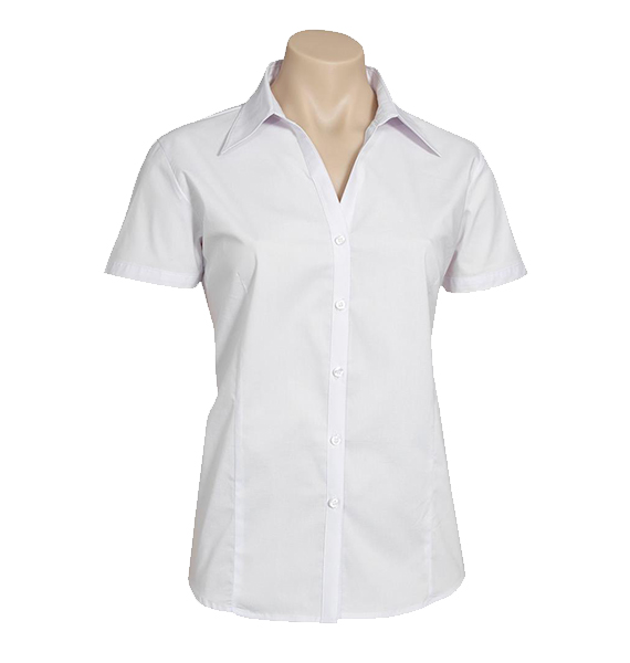 Ladies Metro Short Sleeve Stretch Shirt
