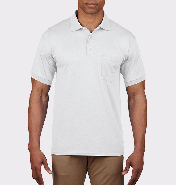 Mens Ultra Cotton Jersey Polo