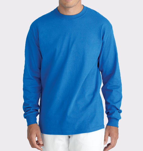 Mens Ultra Cotton Long Sleeve Tee
