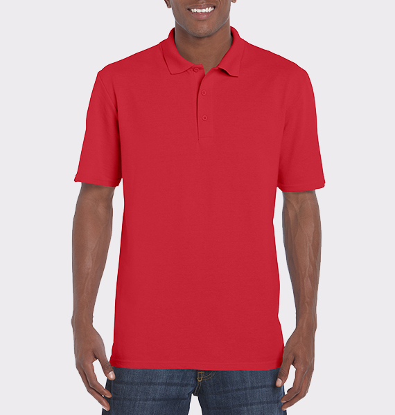 Mens Ultra Cotton Ring Spun Pique Polo
