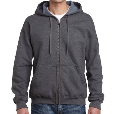 Vintage Classic Zip Hooded Sweatshirt