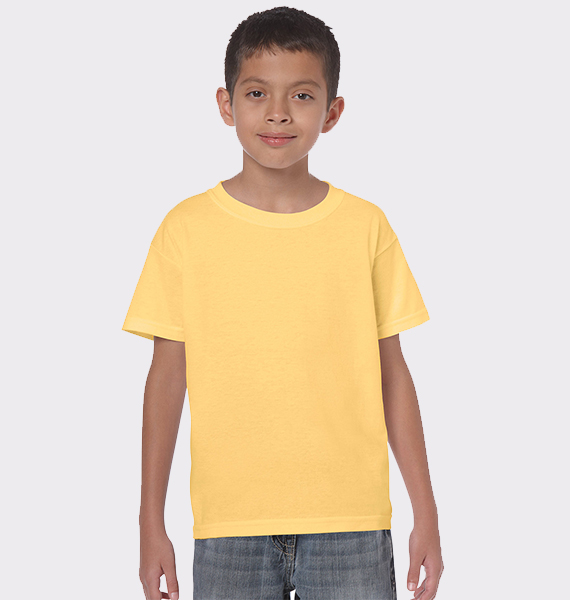 Kids Youth Heavy Weight Cotton T-Shirt