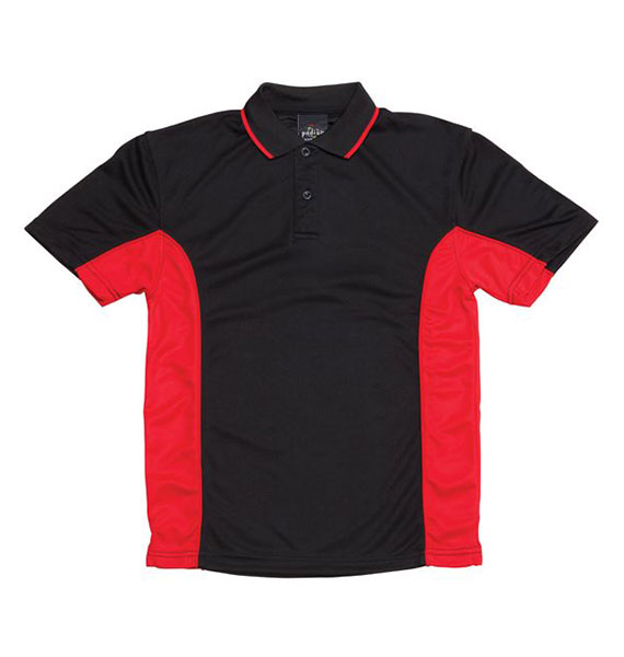 Kids Podium Contrast Polo