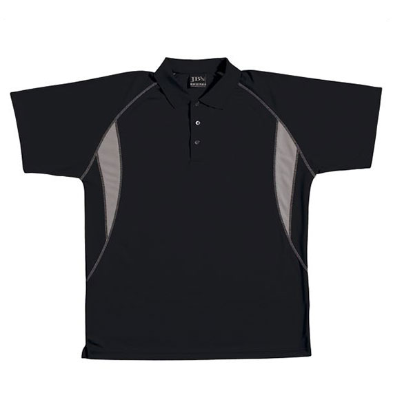 Mens Podium Insert Poly Polo