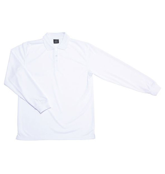 Mens Podium L/s Poly Polo