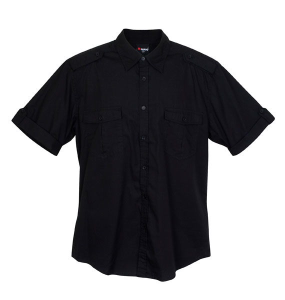 Mens Military Short Sleeve Shirts