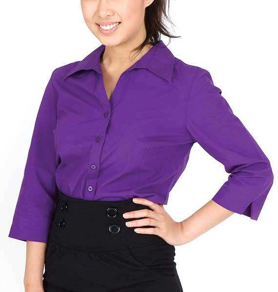 Ladies 3-4 Sleeve Shirts