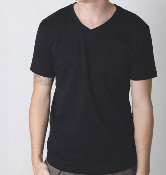 Mens Gemini V Neck Tee