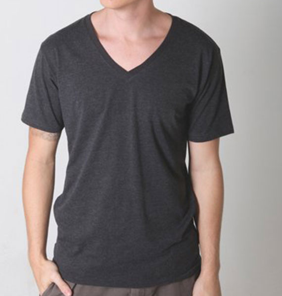 Mens Nauticus V Neck Tee