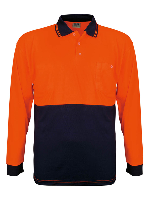 Mens Vision L/s Polo